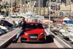 Audi RS3 Sportback Test - Front Ansicht vorne Mario Roman Lambrecht Fotograf Author Redaktuer Monaco Yacht Hafen