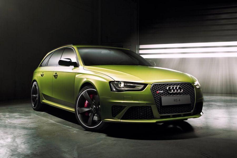 Audi Rs4 Avant In Peridot Gr 252 N Exklusives Einzelst 252 Ck