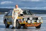Audi Sport quattro S1 Stig Blomqvist Allrad Fünfzylinder Turbomotor Rallyeauto Gruppe B Rennwagen Sportwagen Front