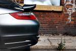 Porsche 997 Turbo Cabrio Test - Heckleuchte Rücklicht Scheinwerfer hinten