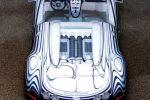 Bugatti Veyron Grand Sport L'Or Blanc 8.0 V16 Cabrio Königlichen Porzellan-Manufaktur Berlin KPM Heck Ansicht