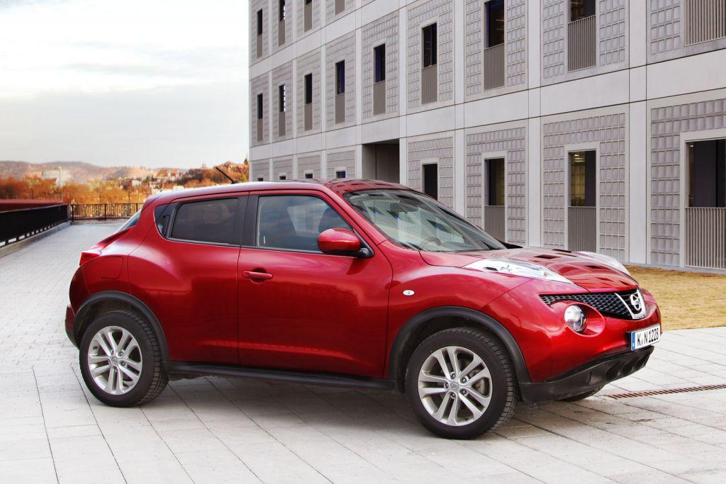 Nissan juke test eher cross als over testbericht for Nissan juke schwarz rot