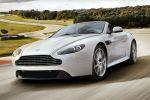 Aston Martin V8 Vantage S Roadster 4.7 V8 Sportshift II DSC HBA HSA Hill Start Assist ABS EBD Front Seite Ansicht
