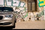 BMW 535i GT (Gran Tourismo) Test - Front Ansicht vorne Frontscheinwerfer Stoßstange