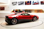Ferrari SP12 EC Eric Clapton Slowhand 458 Italia 512 BB Special Projects 4.5 V8 Heck Seite Ansicht