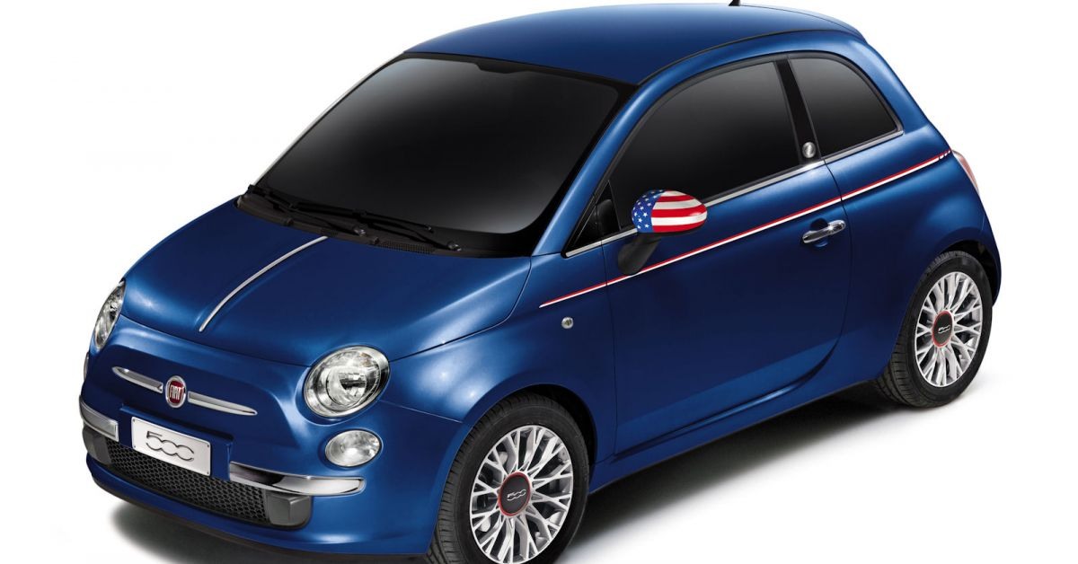 fiat 500 america mit jennifer lopez flagge zeigen speed heads. Black Bedroom Furniture Sets. Home Design Ideas