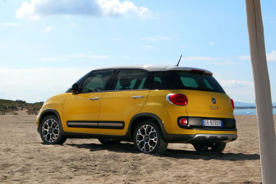 fiat 500l trekking test eine schrecklich coole familie speed heads. Black Bedroom Furniture Sets. Home Design Ideas