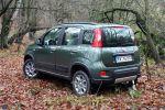 fiat panda 4x4 1.3 16v multijet test - allrad offroad geländewagen 1.3 16v multijet turbodiesel sperrdifferential kleinwagen heck seite ansicht