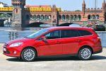 Ford Focus Turnier Test - Seite Ansicht von seitlich Felgen Reifen Türen