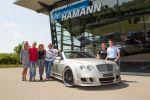 Hamann Bentley Continental GTC Cabrio 6.0 V12 Die Geissens Robert Geiss Carmen Geiss Rooobert Front Seite