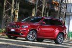 jeep grand cherokee srt test - 6.4 v8 performance sport suv offroad geländewagen front seite ansicht