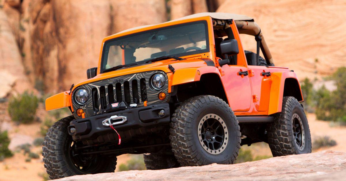 jeep wrangler mojo oranger gl cksbringer f r die extreme. Black Bedroom Furniture Sets. Home Design Ideas