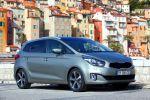 kia carens 2013 test - spirit kompaktvan familie 1.7 crdi turbodiesel ecodynamics flexsteer touchscreen front seite