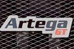 Artega GT Test - Artega GT Schild