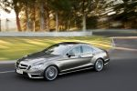 Mercedes-Benz CLS 63 AMG viertüriges Coupe Seite Ansicht 5.5 V8 Biturbo M157 Performance Package AMG Speedshift MCT 7 Gang ECO Ride Control