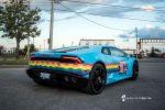 deadmau5 deadmouse deadmou5 Nyanborghini Purracan Lamborghini Huracan Nyan Cat Regenbogenkatze Miau Katze Kirsch Pop Tart Sekanskin Fahrzeugfolierung Car Wrapper Heck Seite