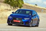 lexus gs f 2016 test v8 saugmotor sport limousine performance torque vectoring differential tvd vehicle stability control vsc traction control trc probefahrt fahrbericht review verdict front seite
