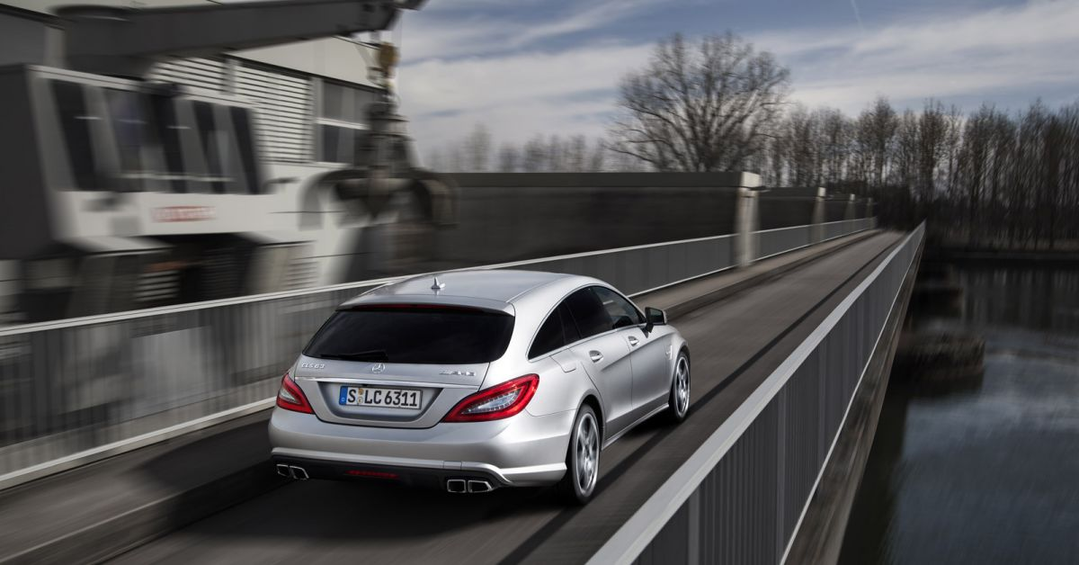 Mercedes Cls 63 Amg Shooting Brake Test Brachiale Power Ohne