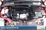 Ford Focus Turnier 1.0 EcoBoost Test - Dreizylinder Motor Triebwerk Aggregat Motorblock