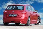 JE Design Seat Ibiza ST Kombi 1.6 TDI CR Elegance Multispoke Shadow Silver Heck Ansicht