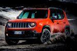 Jeep Renegade Kompakt SUV Geländewagen Offroad Allrad 4x4 MultiAir Turbo Vierzylinder Turbodiesel Front Seite