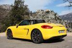Porsche Boxster S 2012 Test - porsche boxster s pdk 981 3.4 roadster sportwagen sechszylinder boxermotor sport chrono paket plus pasm pc heck seite ansicht