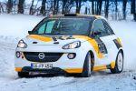 Opel Adam R2 Concept - Ansicht Front von vorne im Schnee