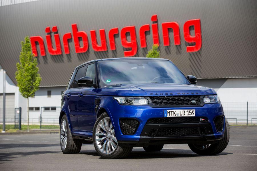 Range Rover Sport SVR Test: Das Monster auf dem Ring ...