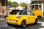 Opel Adam 1909 powered by Marco Reus Slam Borussia Dortmund Fanpaket Siri Eyes Free IntelliLink Spracheingabe Sprachsteuerung iPhone Kleinstwagen Smartphone Heck Seite