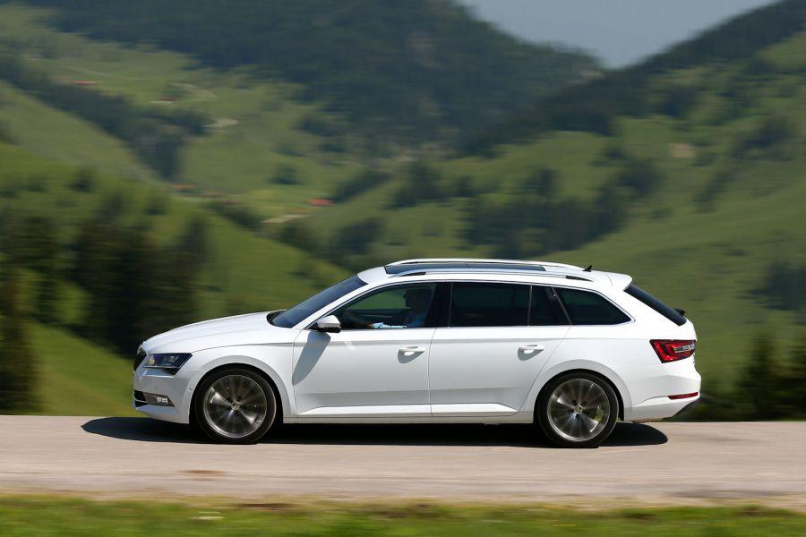 skoda superb combi lk test geheimtipp die neue luxus variante speed heads