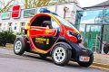Der Renault Twizy wird zum echten Feuerwehrauto.