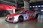 Audi R8 LMS ultra 5.2 V10 Rennwagen Felix Baumgartner 24 Stunden Rennen 2014 24h Nürburgring Nordschleife Audi Race Experience Team Grüne Hölle Weltall