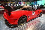 Ferrari 599XX Evolution Package 6.0 V12 ESP ABS F1-Trac SCM Heck Seite Ansicht