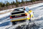 Audi Sport quattro S1 Stig Blomqvist Allrad Fünfzylinder Turbomotor Rallyeauto Gruppe B Rennwagen Sportwagen Heck
