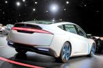 Honda AC-X Concept Plug-in-Hybrid 1.6 Benziner Elektromotor Advanced Cruiser eXperience Dual Solid Motion Engine Drive Automatic Drive Advanced Interface Interior Heck Seite Ansicht