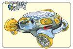 Smart 454 Weight Watch Technologien WWT Smart Granny Robots SGR Viersitzer Elektro Lithium Ionen Batterie