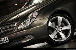 Mercedes CLS 500 Test - Front Seite Ansicht vorne seitlich Felge vorne Frontscheinwerfer