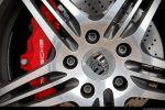 Porsche 997 Turbo Cabrio Test - Felge Ansicht Bremse Bremsscheibe