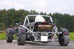 Wimmer RS Ariel Atom 3 300 Heck Ansicht 2.0 Vierzylinder