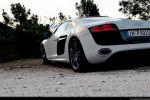Audi R8 V10 Test - Heck Seite Ansicht hinten seitlich Heckleuchte Rücklicht Scheinwerfer hinten