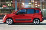 Fiat Panda 2012 Test - 0.9 TwinAir Lounge Zweizylinder Kleinwagen 3. Generation Squircle Eco Blue&Me TomTom Live Touchscreen Techno Style Seite Ansicht