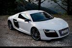 Audi R8 V10 Test - Seite Front Ansicht seitlich vorne Felge vorne hinten
