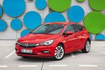 opel astra k 1.4 ecotec turbo 2016 test kompaktklasse voll led matrix licht intellilux led intellilink smartphone app onstar internet wlan kofferraum gepäckraum laderaum probefahrt fahrbericht review verdict front seite