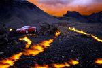 René Staud Automobil Fotografie Photograph Leonberg Aston Martin Fire and Ice
