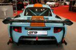 9ff GT9 CS Clubsport 3.6 Sechszylinder Boxermotor Mittelmotor Rennstrecke BBS CS racetrack race course Heck Ansicht