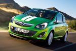 Germanys Next Topmodell Lena Gercke Opel Corsa Color Stripes Benzin 1.3 1.7 CDTI Diesel 1.2 1.4 1.6 Turbo Front Seite Ansicht