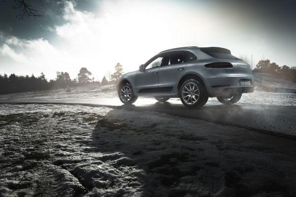 Porsche Macan Turbo Test - Seite seitlich