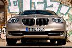 BMW 535i GT (Gran Tourismo) Test - Front Ansicht vorne Kühlergrill Frontscheinwerfer Stoßstange