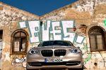 BMW 535i GT (Gran Tourismo) Test - Front Ansicht vorne Kühlergrill Frontscheinwerfer