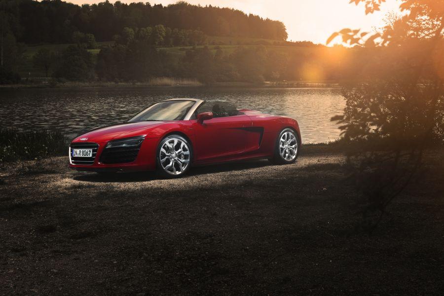 Audi r8 v10 spyder rtronic